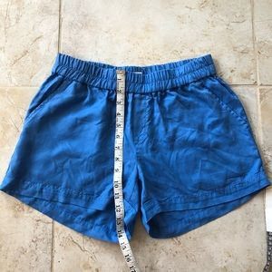 Crown & Ivy Blue Comfortable Shorts